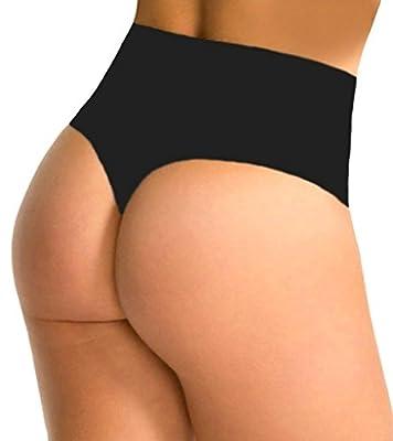 SAYFUT Women Waist Cincher Girdle Tummy Slimmer Sexy Thong Panty Shapewear