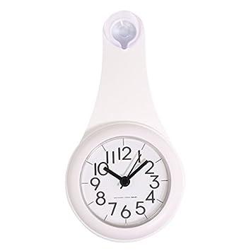 Amazon.com: Silent Wall Clock, XSHION Small Wall Clocks for Bathroom ...