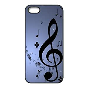 Musical Note iPhone 4 4s Cell Phone Case Black U2J4ST