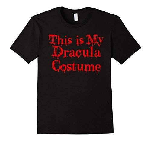Female Dracula Costumes (Mens Official This Is My Dracula Costume T-Shirt Men Women Kids XL Black)