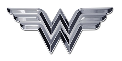 Wonder Woman (3D) Chrome Auto -