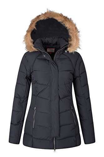 Black Mountain Down Isla Ii Warehouse Jacket Womens AaYBA