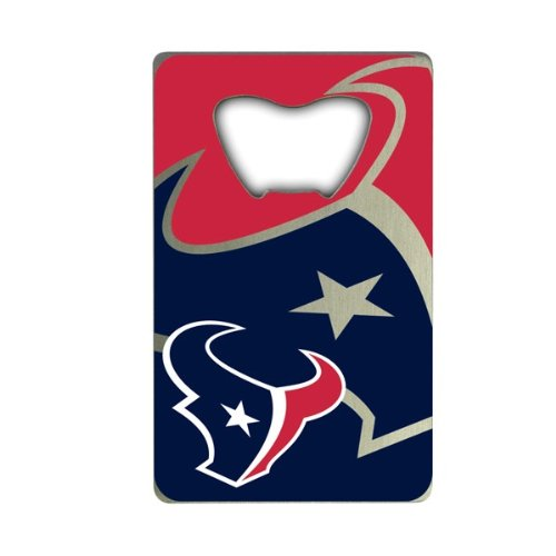 NFL Houston Texans Credit Card Style Bottle Opener ()