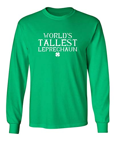 (Feelin Good Tees Tallest St. Patrick's Day Saint Paddy Irish Pats Funny T Shirt L Irish MLS)