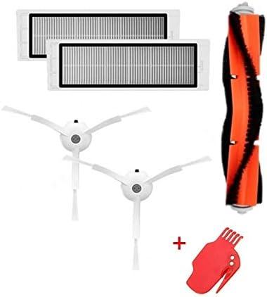 スマートホーム Xiaomi用ローリングブラシサイドブラシハイパフィルタースクリーンフィルターエレメントスイープロボットアクセサリー スマートホーム