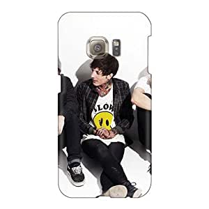 Protective Hard Phone Cover For Samsung Galaxy S6 With Custom Beautiful Bring Me The Horizon Band Bmth Image JasonPelletier