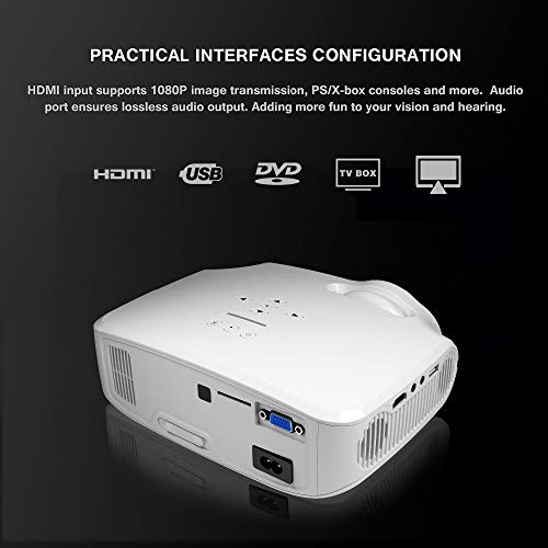 Full HD 4K * 2K Proyector Video Proyector LED Android 7.1.2 OS De ...