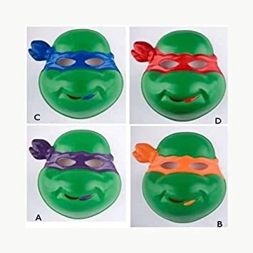 Carnival Toys S.R.L. - D MÃSCARA Ninja Tortuga Rojo: Amazon ...