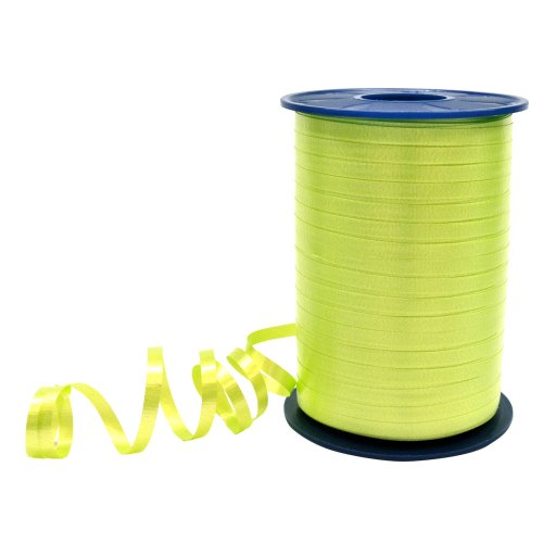 Morex Ribbon 3/16-Inch by 500-Yard Spool Crimped Curling Ribbon, Lime Green ()