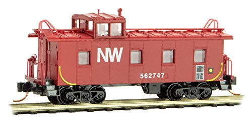Micro-Trains MTL N-Scale 36ft Steel Cupola Caboose for sale  Delivered anywhere in USA
