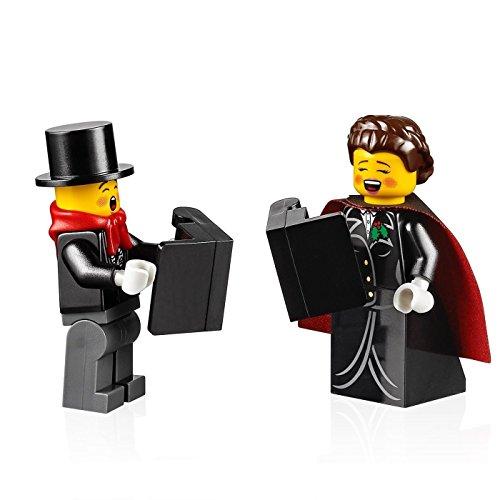 LEGO Holiday MiniFigure - Carolers (Female & Male Combo) Set 10249 (Tall Figure Caroler)