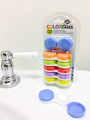 Contact Lens Case ColorCase 6-Pack