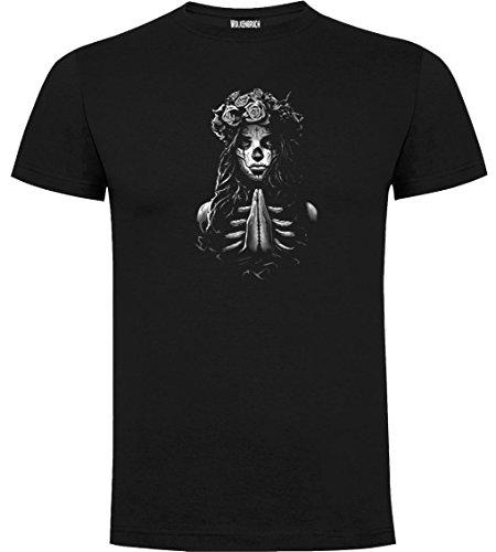 Wolkenbruch Shirt Pray Girl Day of Dead Gr.M-XXXXXL