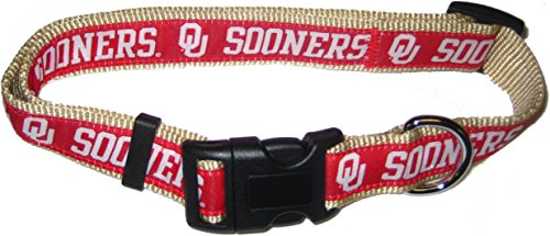 COLLEGE OKLAHOMA SOONERS Dog Collar, - Fashion Sooner