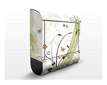 Design Briefkasten Fruhlingszeit Natur Blumen Bluten Ornamental