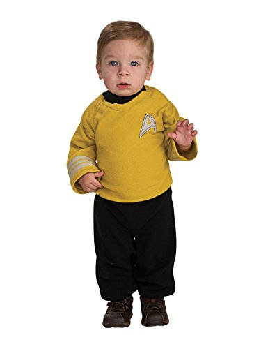 (Star Trek into Darkness Captain Kirk Costume, Toddler)