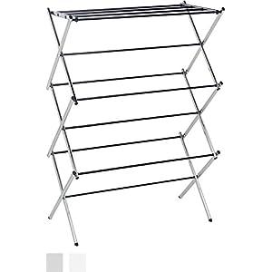 AmazonBasics Foldable Drying Rack - Chrome