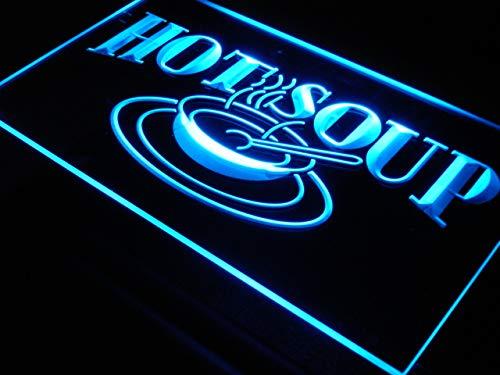 - ADVPRO HOT Soup Restaurant Cafe LED Sign Neon Light Sign Display i125-b(c)