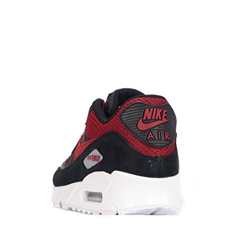 Chaussure De Course Nike Air Max 90 Essential Noir / Résistant Rouge-résistant Rouge