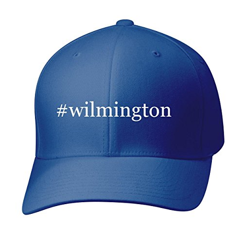 BH Cool Designs #Wilmington - Baseball Hat Cap Adult, Blue, Large/X-Large