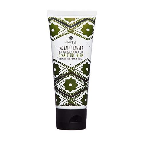 Alaffia - Neem Turmeric Clarifying Facial Cleanser, Gently C