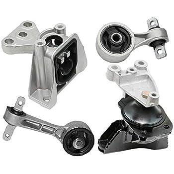 Combo 4 Pcs Engine Mount Set For 2006-2011 Honda Civic 1.8L Manual Standard New
