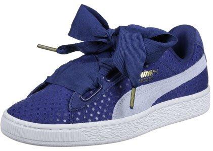 Puma Basket Heart Denim W Calzado Bleu marine