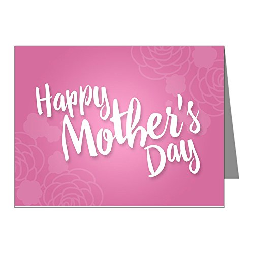 CafePress - Happy Mother's Day Card Note Cards - Blank Note Cards (Pack of 20) Matte