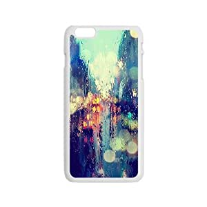 Abstract colorful Car glass lighting Phone Case for iPhone 6