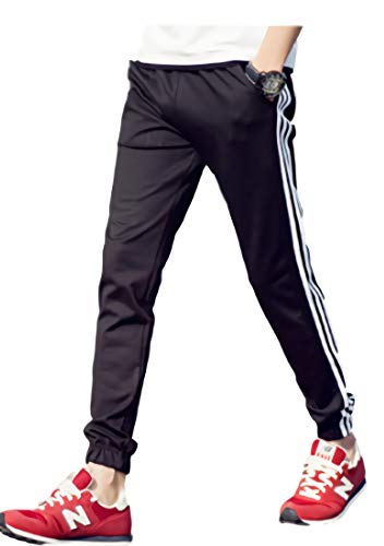 保証金ファンド散逸[パリド] サイド ライン スウェット パンツ ストリート ズボン ジャージ S ~ 6XL メンズ