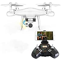 Oksale S10W0.3MP 2.4Ghz RC Helicopter Camera WIFI FPV Headless Mode Altitude Hold Drone Remote Control Quadcopter Gift for Children