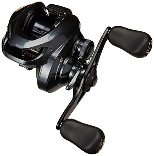 - SHIMANO Chronarch G SW Baitcasting Fishing Reel, 7.1:1, Left-Handed,Black,CH151HGG