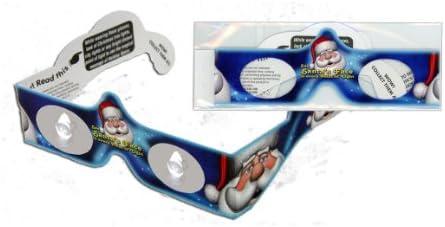 Amazon.com: Papá Noel día festivo Specs – ver Cara en luces ...