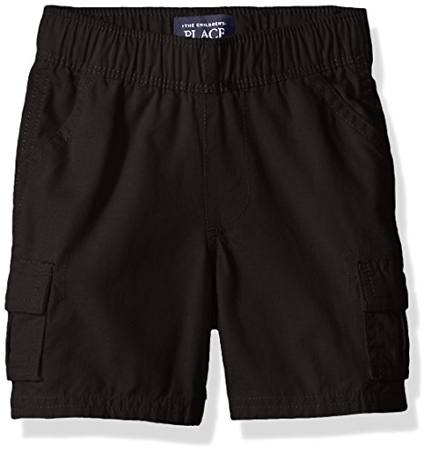 Boys Black School Shorts