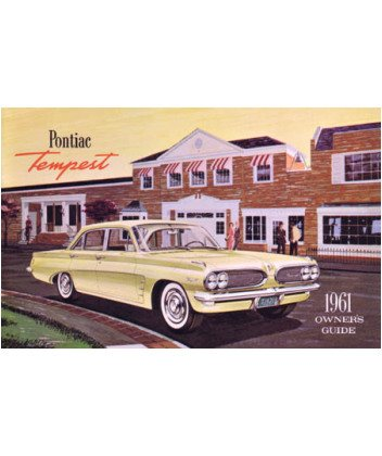1961 PONTIAC TEMPEST Owners Manual User Guide