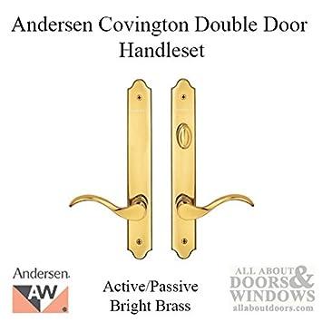 Andersen® Covington Style (Double Active) Hinged Door Hardware Set ...