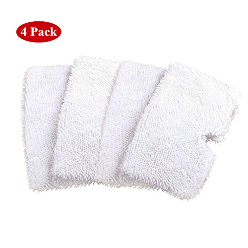 Atphfety Washable Replacement Steam Cleaning Mop Pads (4, for Shark S3550/S3901/S3601/S3501)