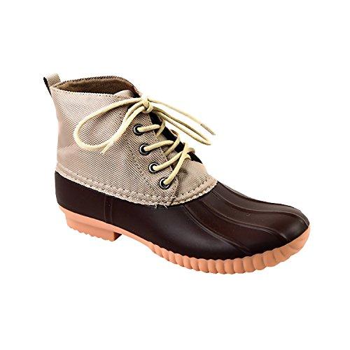 Avanti Brown Cruze Womens Duck Waterproof Boots Rainboots rrAw7qC