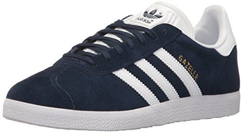 Adidas Originals Women's Gazelle W Sneaker Collegiate Navy/White (Large Image)