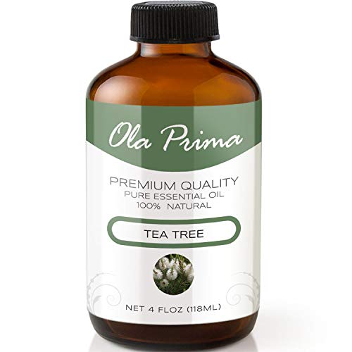 4oz - Premium Quality Tea Tree Essential Oil (4 Ounce Bottle with Dropper) Therapeutic Grade Tea Tree Oil