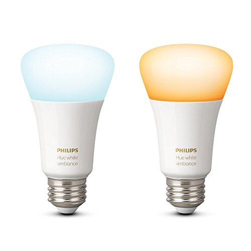 Philips 453092 Ambiance A19 2 Retail Hue White 60W Equivalent (Large Image)