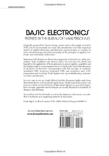 Basic Electronics (Dover Books on Engineering) by Dover Publications