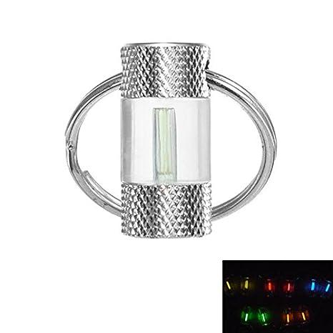 Bazaar - Llavero de tubo de tritio, 1,5 x 6 mm, autoluminoso ...