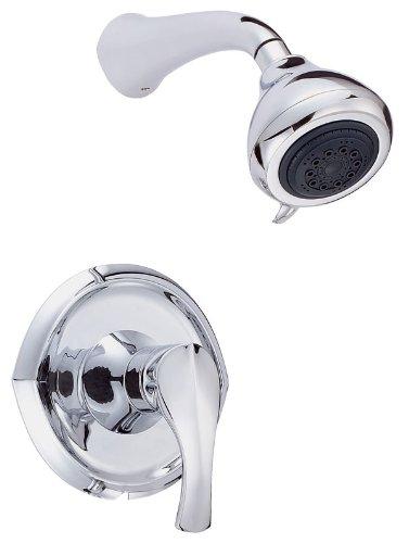 Danze D500546T Corsair Single Handle Shower Only Faucet Trim Kit, Chrome (Valve Not Included)