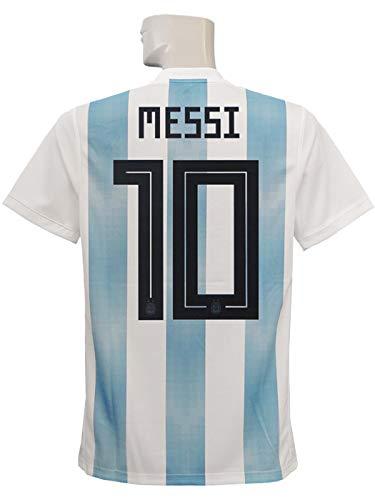 次へ過剰分割(アディダス) adidas 18 19アルゼンチン代表 ホーム 半袖 メッシ ジュニア用 DTQ81-BQ9288 160