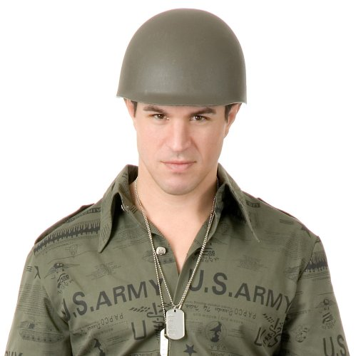 [GI Helmet - Adult - One - Size] (Plastic Green Army Man Costume)