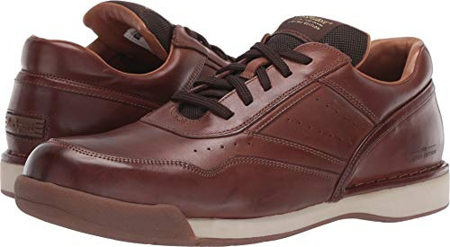 Rockport Mens M7100 Prowalker Limited Edition Walking Classic Dark Brown Burnished Leather Sneaker - 13 ()