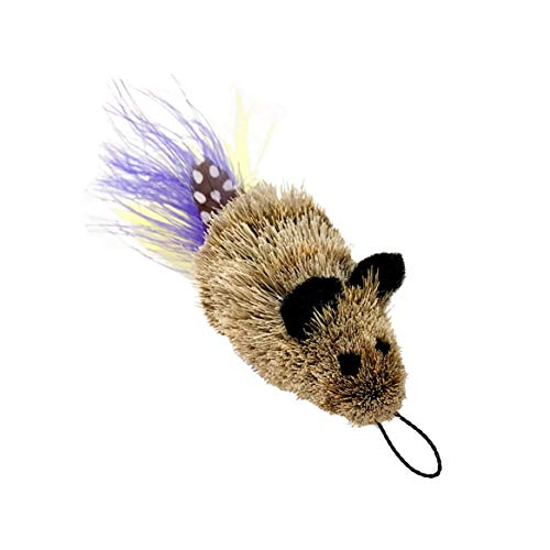 Go Cat Refill Lure Attachment for Teaser Wand - Da Feather Mouse ()