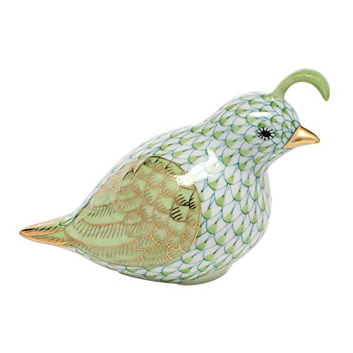 Herend California Quail Porcelain Figurine Key Lime for sale  Delivered anywhere in USA