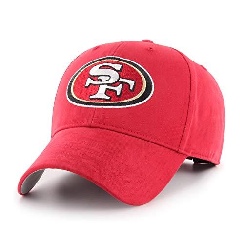 NFL San Francisco 49Ers Children Cinch Ots All-Star MVP Adjustable Hat, Kids, Red